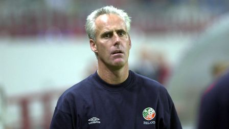 Mick McCarthy, pictured during his time as Republic of Ireland manager. Picture: PA