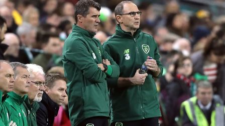 Martin O'Neill and Roy Keane left their roles with Ireland this morning. Picture: PA