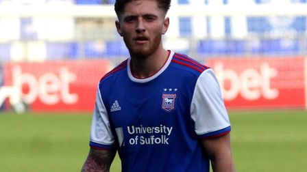 Teddy Bishop has played just 24 minutes of football for Ipswich Town this season. Picture: ROSS HALL