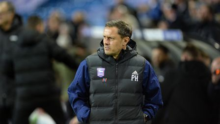 Former Ipswich Town manager Paul Hurst, pictured at Leeds in October. Picture Pagepix