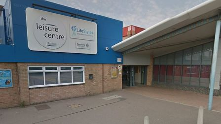 A man was robbed at gun point near Clacton Leisure Centre Picture: GOOGLE MAPS