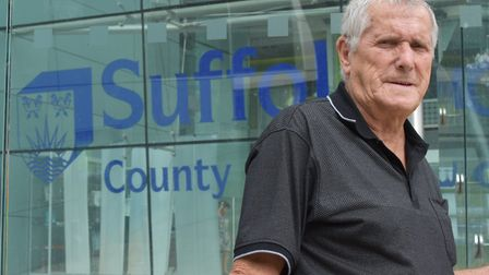Labour transport spokesman Jack Owen is unhappy at Suffolk County Council's decision not to build a