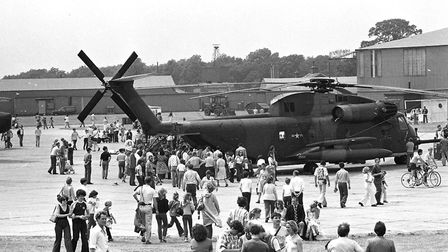 Bentwaters Open Day in 1979 Picture: JOHN KERR