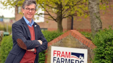Richard Anscombe, chief executive of Fram Farmers Picture: SARAH LUCY BROWN