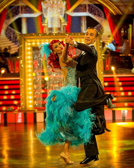 Dianne Buswell, Joe Sugg - (C) BBC - Photographer: Guy Levy