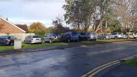 Police cracked down on illegal parking in Barons Road, Bury St Edmunds. Picture: ST EDMUNDSBURY POLI