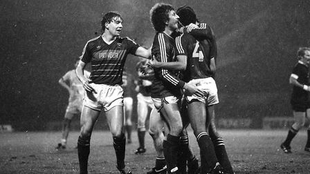 On this day in 1984, Town beat Oxford United 2-1 in the League Cup