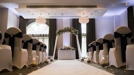 Bedford Lodge wedding decorations Picture: PETER OLIVER PHOTOGRAPHY