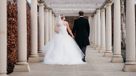 A wedding at Bedford Lodge Hotel and Spa Picture: LEE ALLISON PHOTOGRAPHY