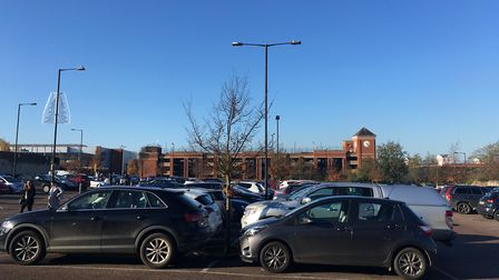 St Edmundsbury Borough Council is getting less money from its car parks in Bury St Edmunds town cent