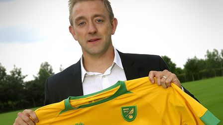 Gill was born in Norwich and played for the club between 2009 and 2011. Picture: ARCHANT