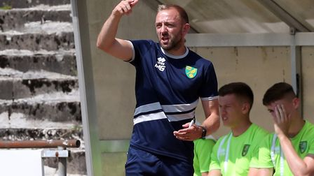 Gill, pictured on Norwich's pre-season tour of Germany earlier this year. Picture by Paul Chesterto