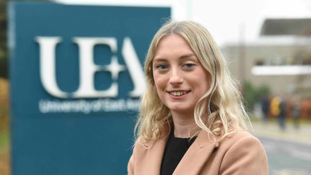 Stephanie Lake, a legal intern at Sizewell C Picture: EDF ENERGY