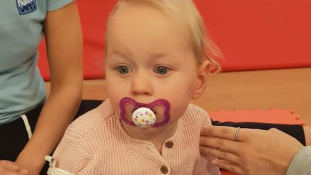 Her parents were told Grace is potentially only the third person in the UK to have the rare gene mut