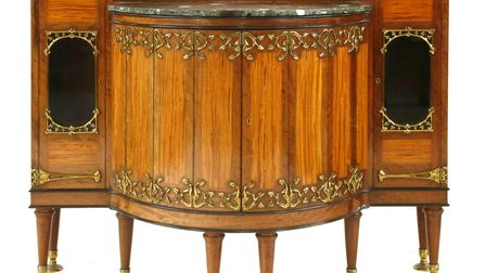 This cabinet - one of few to appear on the market - by William Arthur Smith Benson (1854-1924) will