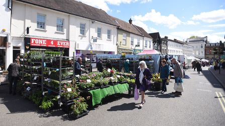 The stall will be at Bury St Edmunds market Picture: GREGG BROWN