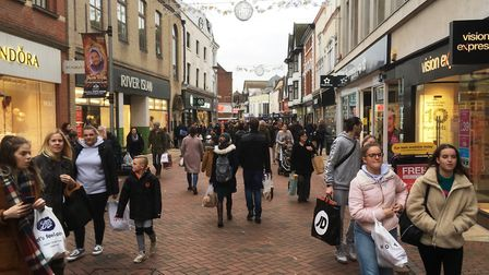 Today, shoppers want the best of the on and offline world. Picture: PAUL GEATER