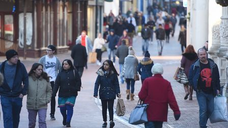 Retail tech is moving fast and high street retailers must act or get left behind . Picture: GREGG BR