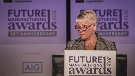 Caroline Gumble, chief operating officer of the EEF manufacturers' organisation, who will be speakin