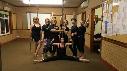 One of Donna's dance groups. Picture: SHESIZZLES