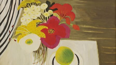Mary Fedden's oil Garden Bunch, dated 1988, sold for £38,000 well above its estimate of £5,000-£7,00