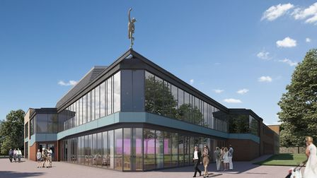 Artist's impression of the new-look Mercury Theatre. Work on the refurbishment will start later this