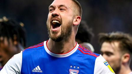 Luke Chambers is set to be out of contract at Ipswich Town in the summer. Photo: Steve Waller