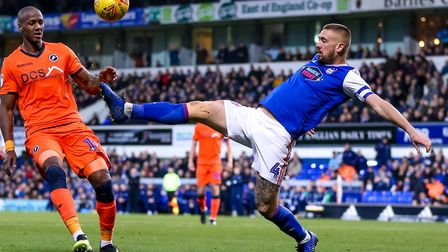 Luke Chambers has made more than 300 appearances for Ipswich Town. Photo: Steve Waller