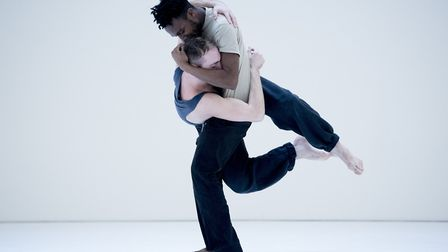 James Cousins Company will be performing Epilogues, new work for two men at DanceEast Photo: Camilla