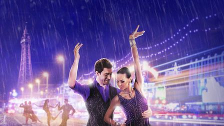 Kiss Me Quickstep brings the glamourous world of ballroom dancing to the New Wolsey Theatre Photo: N