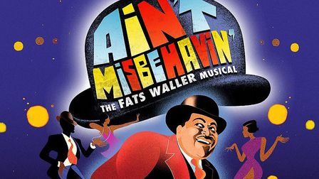 Poster image for Ain't Misbehavin' a new musical about life and career of Fats Waller which is being