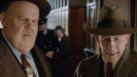 Steve Coogan and John C Reilly as the classic comedy duo Laurel and Hardy touring Britain in the bi