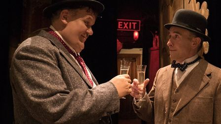 Steve Coogan and John C Reilly as the classic comedy duo Laurel and Hardy in the touching bio-pic St