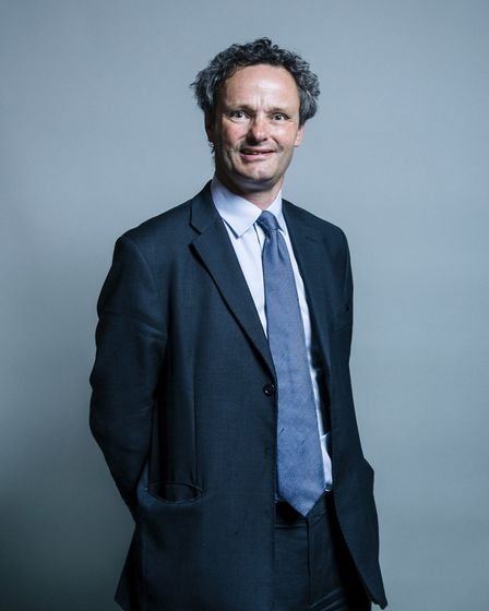 Peter Aldous, MP for Waveney Picture: HOUSE OF COMMONS