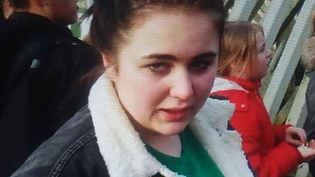 Amelia Gower went missing from her home in Great Waldingfield. Picture: SUFFOLK CONSTABULARY