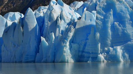 A glacier in Chile... probably not the one that was stolen. Picture: Getty Images/iStockphoto