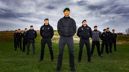 Veteran Royal Marines from Essex Boot Camp pushed the participants to the limit Picture: OLD SOLDIER