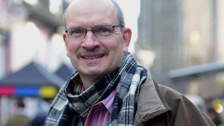 Ipswich MP Sandy Martin has campaigned for Suffolk Pride to return Picture: SARAH LUCY BROWN