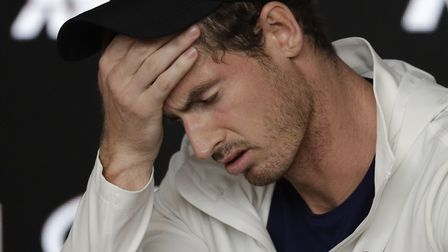 Andy Murray got emotional during a press conference when he revealed that he will be forced to retur