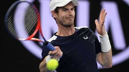 Andy Murray in what could be his final match - a defeat to Spains Roberto Bautista Agut at the Aust