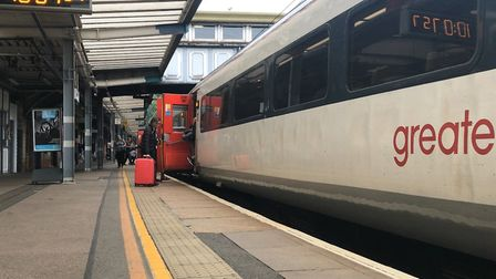 Delayed Greater Anglia passengers have boosted the Samaritans. Picture: NEIL PERRY