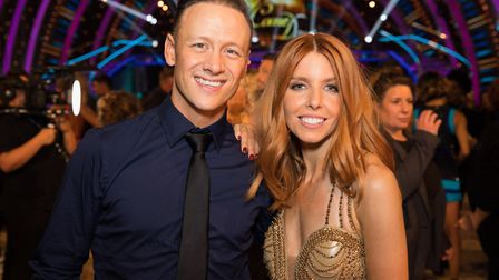 Strictly Come Dancing Champions 2018 Kevin Clifton, Stacey Dooley - (C) BBC - Photographer: GUY LEVY