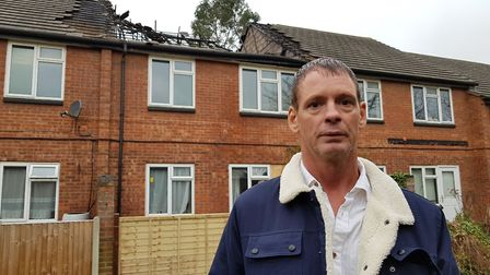 Lee Courtney was on holiday while his flat was destroyed by a suspected arson attack Picture: RACHE