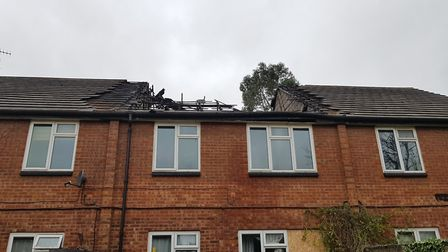 A police investigation into the fire is ongoing Picture: RACHEL EDGE
