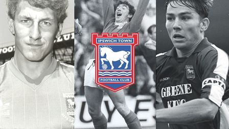 An Evening with Ipswich Town Football Club Legends will take place on Thursday, January 17, at the T