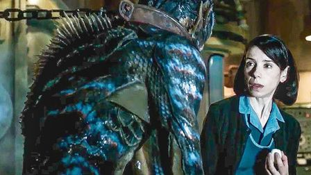 The horror/romance The Shape of Water, starring Sally Hawkins, leads the BAFTA race with 12 nominati