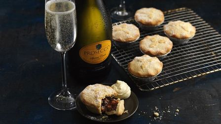 Prosecco and mince pies are Christmas staples PICTURE: Central England Co-op