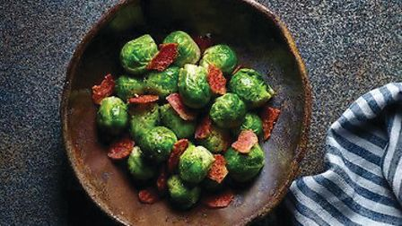 Sprouts in bacon PICTURE: Central England Co-op