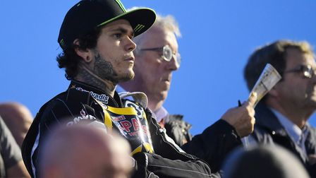 World champion and Britian's best performing speedway rider ever, Tai Woffinden. But not a mention o