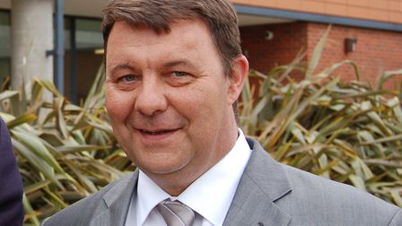 James Waters said there would be a strong working relationship between the new West Suffolk Council
